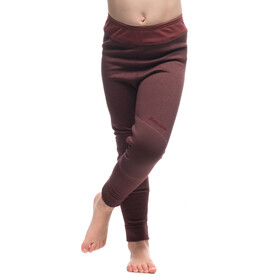 Houdini Kids Alpha Long Johns Mulberry Red